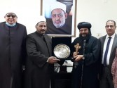"""أسقف البحر الأحمر يهنئ """" أبو زيد """" لتوليه رئيس منطقة البحر الأحمر الأزهرية"""