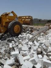 الوحدة المحلية بالمنيا تواصل إزالة 34 حالة تعد على الأراضي الزراعية وأملاك الدولة