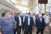 وزير النقل يقوم بجولة تفقدية بمحطتي مصر و الشهداء  للإطمئنان على انتظام حركة القطارات