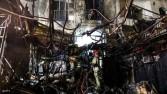 19 قتيلا بانفجار مركز طبي في طهران