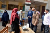 الهجان وعجلان يتفقدا لجان إمتحانات الثانوية العامة بمدينة بنها