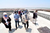 وزير الإسكان يتفقد محطة معالجة صرف صحى وصناعى شطا بدمياط لخدمة 150 ألف نسمة