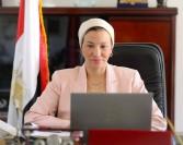 ياسمين فؤاد : لا تهاون فى تطبيق القانون مع المخالفين واتخاذ كافة الإجراءات الحاسمة