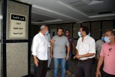 محافظ القليوبية يتفقد مستشفي كفر شكر المركزي ومحطة مرشحة المنشاة الكبري