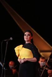 وزيرة الثقافة تطلق إشارة إستئناف نشاط الأوبرا على مسرح النافورة