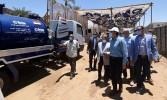 مدبولى يتفقد أعمال مشروع إحلال وتجديد البنية التحتية بطريق السادات بمدينة أسوان