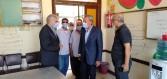 الهجان وعجلان وجرامون  يتفقدوا مقار اللجان الإنتخابية بكفر شكر