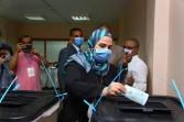 وزيرة التضامن الاجتماعي تدلي في انتخابات الشيوخ  وتدعوا المواطنين على المشاركة