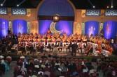 الموسيقات العسكرية على مسرح النافورة بالأوبرا