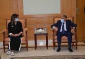 """وزيرة الهجرة ومحافظ المنيا يطلقان مبادرة """"مراكب النجاة"""""""