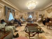 رئيس المجلس العالمي للتسامح والسلام يستقبل رئيس برلمان النيجر