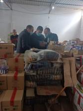 تموين الاسكندرية:ضبط وتحريز   2600 سلعةمجهولة المصدر