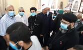 أفتتاح مسجد دهيس سيدى أبى عمرة بجرجا سوهاج بمشاركة الكنيسة