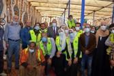 محافظ القليوبية يتفقد أعمال تجهيز 5 آلاف كرتونة ضمن حملة إفطار صائم