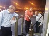 سعد الله يترأس حملة للمرور علي محطات البنزين بالاسكندرية