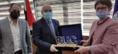 """محمد القلا: رئيسة البنك الأوروبى فى زيارة لـ""""جامعة بدر"""" لبحث سبل التعاون المشترك"""