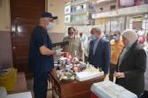 محافظ القليوبية يتفقد القافلة الطبية البيطرية بقرية ميت كنانة بطوخ