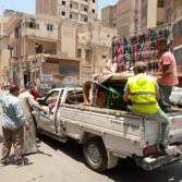 محافظ أسيوط: حملة لإزالة إشغالات الباعة الجائلين بشوارع وميادين حي غرب