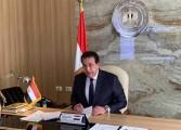 """وزير التعليم العالي يستعرض تقريرًا حول ندوة """"تحديات البيئة المائية المصرية"""" بمعهد تيودور بلهارس"""