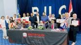"""""""العلاج الطبيعى"""" بجامعة بدر تحتفل بتخريج دفعة جديدة بالتعاون مع وينستون فى أمريكا"""
