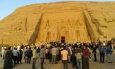 أسرة طلاب من أجل مصر بجامعة أسوان تشارك في تعامد الشمس بابوسمبل