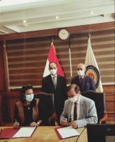توقيع بروتوكول تعاون بين اللجنة الوطنية لليونسكو ومركز الخدمات الإلكترونية والمعرفية بالمجلس الأعلى للجامعات